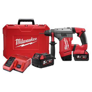 Milwaukee M18CHP-502C M18 FUEL™ 28mm SDS Plus Rotary Hammer Kit