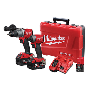 Milwaukee M18FPP2A2-502C M18 FUEL™ 2 Piece Power Pack 2A2