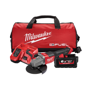 "Milwaukee M18FSAG125XPDB-602 M18 FUEL® 125MM (5"") RAPID STOP™ ANGLE GRINDER 6.0AH KIT"