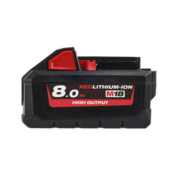 Milwaukee M18HB8 M18™ REDLITHIUM®-ION HIGH OUTPUT 8.0AH BATTERY PACK