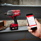 "Milwaukee M18ONEFHIWF34-502C M18 FUEL™ ONE-KEY™ 3/4"" High Torque Impact Wrench w/ Friction Ring Kit"