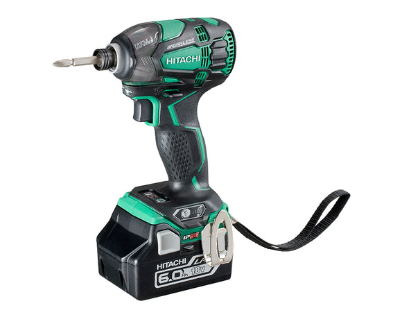 Hitachi WH18DBDL2(H4) 18V Slide Brushless IP56 Triple Hammer Impact Driver