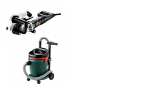 Metabo MFE40COMBO Wall Chaser & Extractor Combo Kit