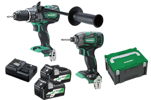 HiKOKI KC36DBDL(HRZ) 2 Piece MultiVolt Brushless Combination Pack