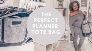 The Perfect Planner Tote Bag