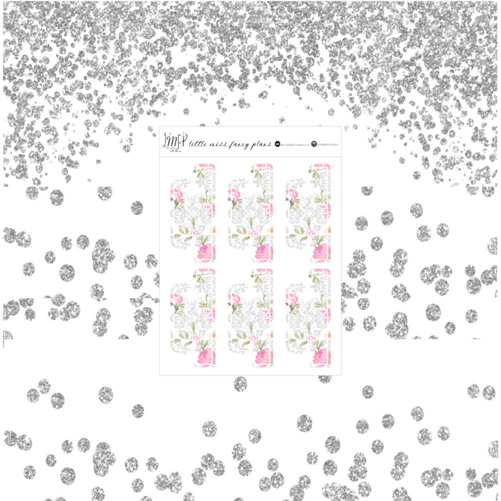 Floral Chic MINI and CLASSIC Tabs <Divider Tabs>