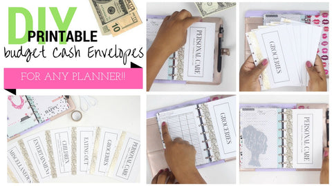 BUDGET DIY Cash Envelopes <Printables>