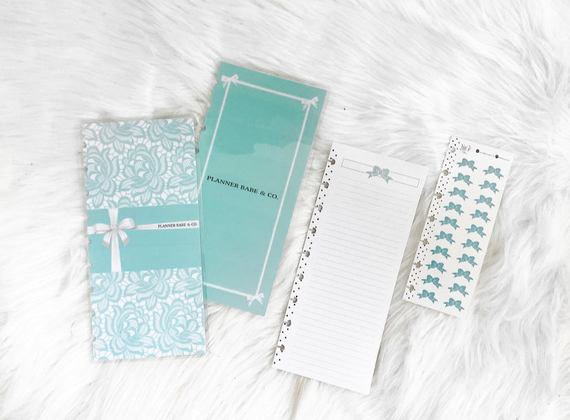 Half Sheet Cover Set 11pc KIT <Double Sided Print> Planner Babe and Co