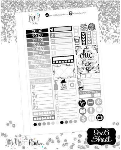 Neutral Chic #2 <Sticker Kit>