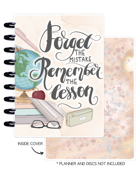 Cover Set of REMEMBER THE LESSONS <Double Sided Print>