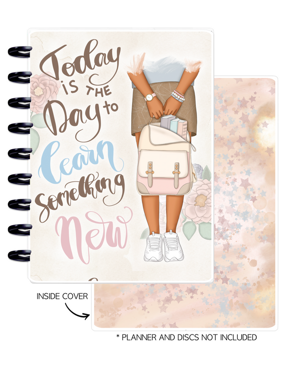 Cover Set of LEARN SOMETHING NEW <Double Sided Print>