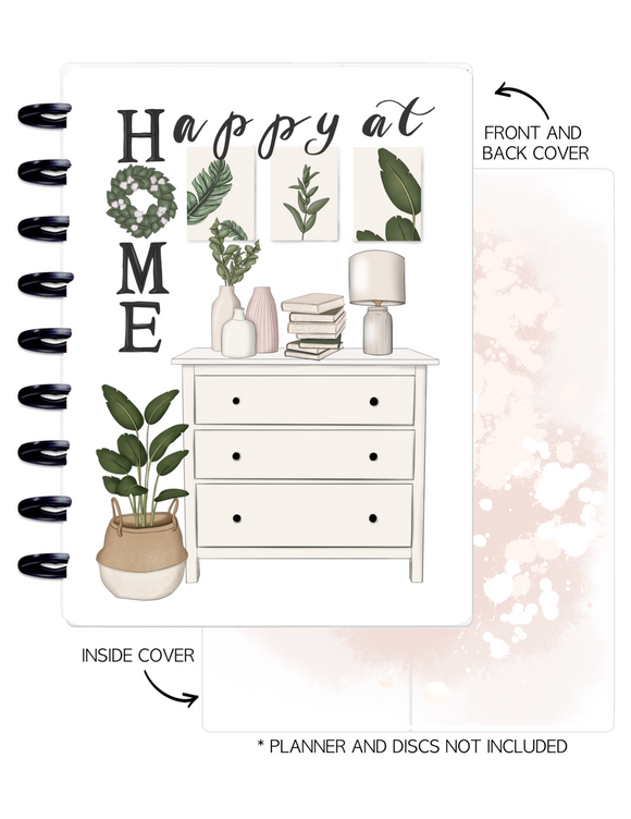 Cover Set of HAPPY AT HOME <Double Sided Print>