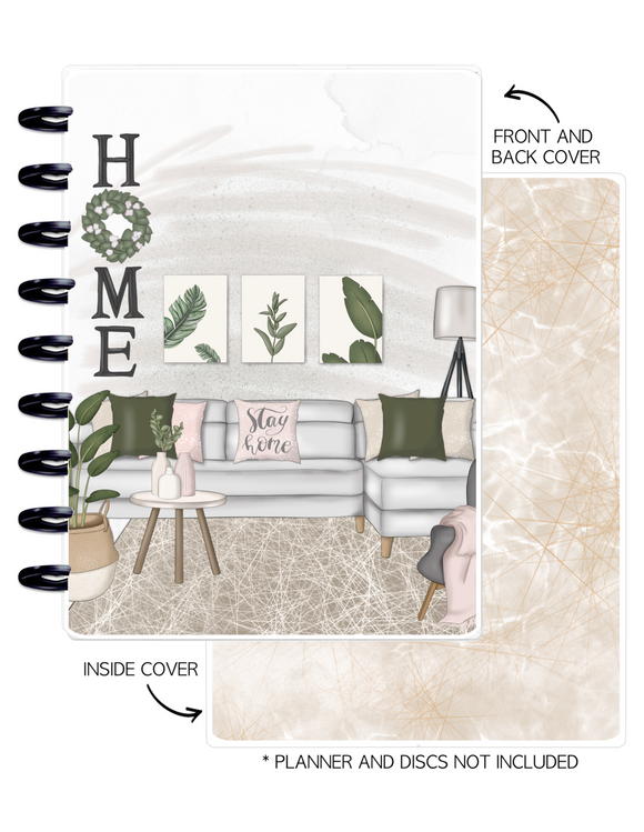 Cover Set of HOME LIVING <Double Sided Print>