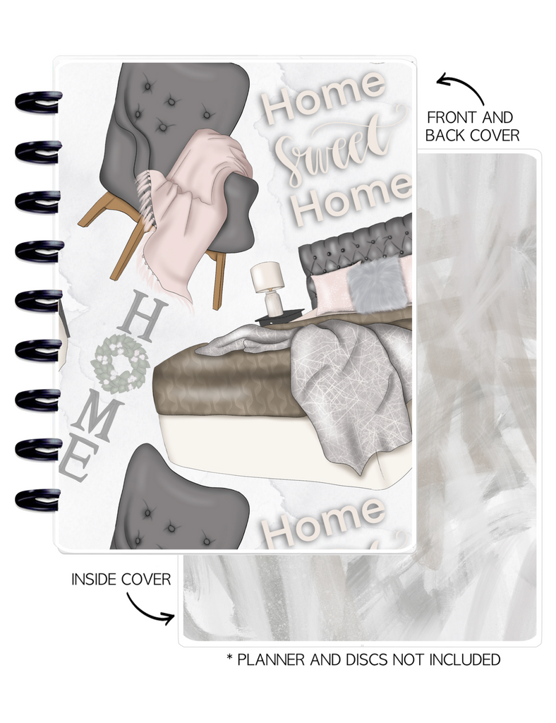Cover Set of HOME SWEET HOME ICONS <Double Sided Print>
