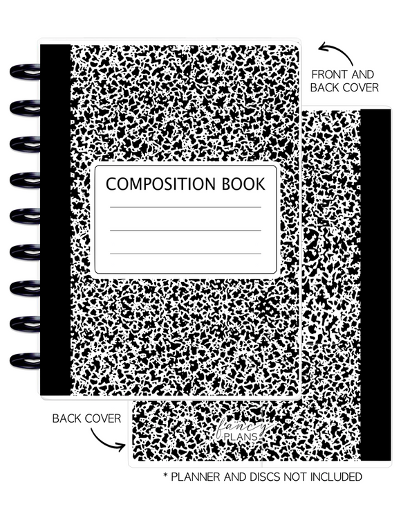 Cover Set of BLACK COMP  <Double Sided Print>