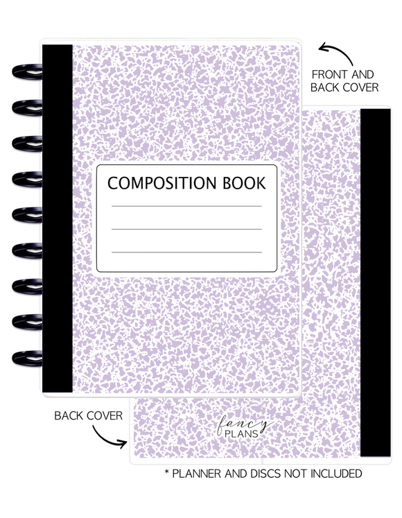 Cover Set of LAVENDER COMP  <Double Sided Print>