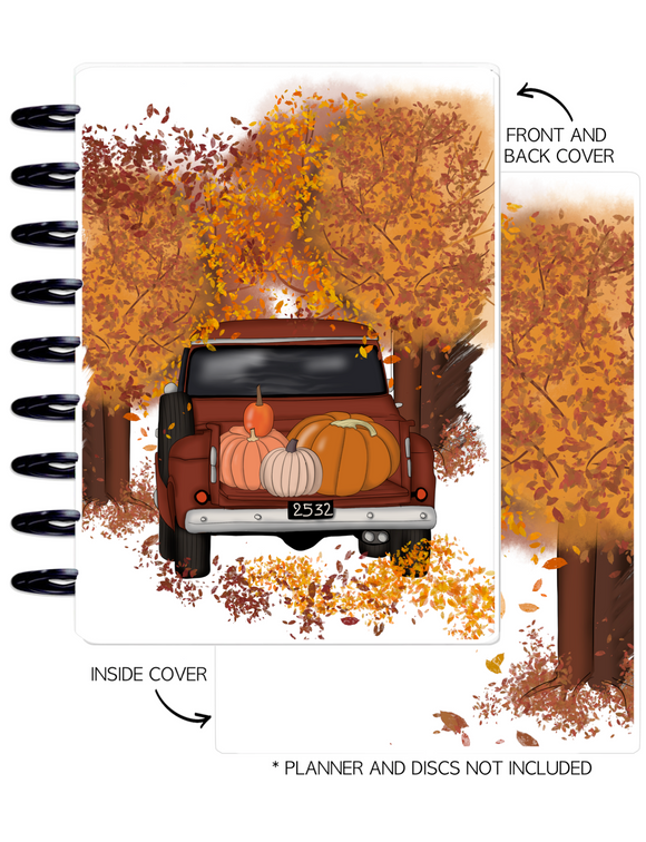 Cover Set of AUTUMN VIBES FALL SCENE <Double Sided Print>