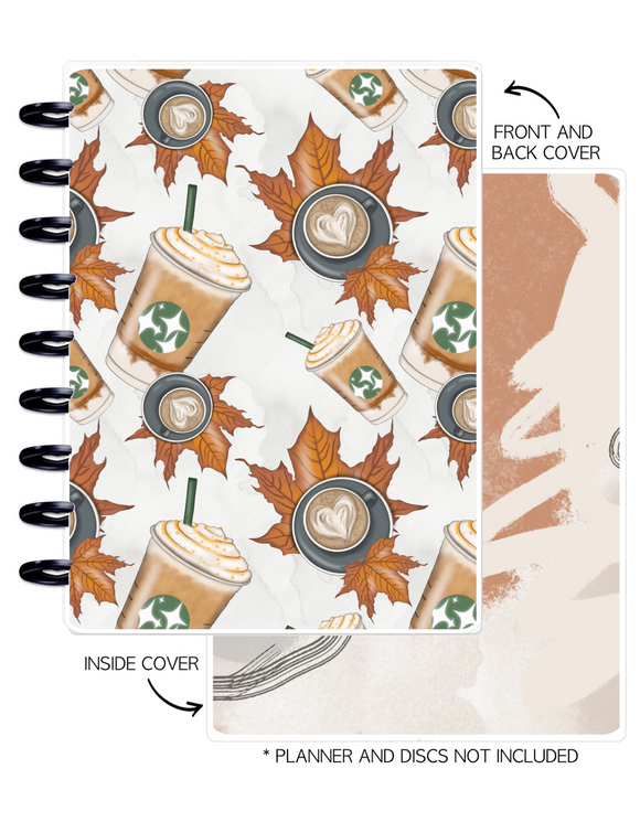 Cover Set of AUTUMN VIBES FALL + COFFEE <Double Sided Print>