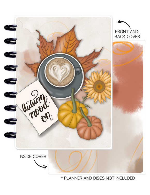 Cover Set of AUTUMN VIBES AUTUMN MOOD <Double Sided Print>