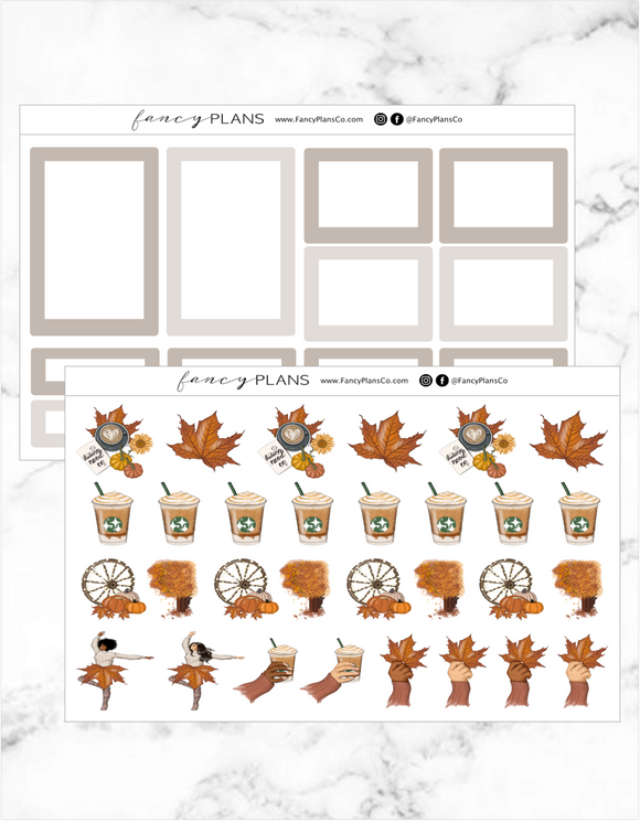 Autumn Vibes TAN | BOXES + ICONS