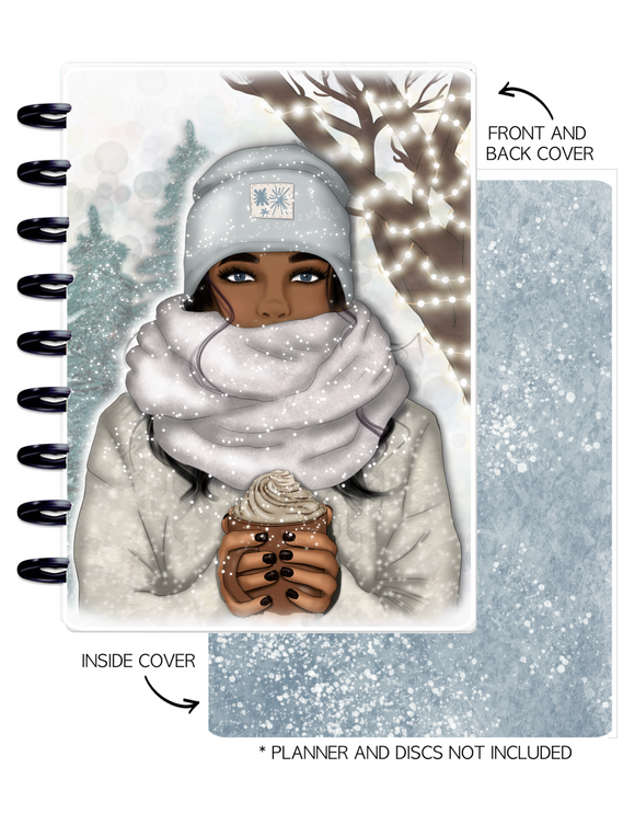 Cover Set of 2 WINTER VIBES Girls <Double Sided Print>