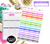 To Watch<Label Boxes> | Erin Condren, Happy Planner Stickers, Personal Planner