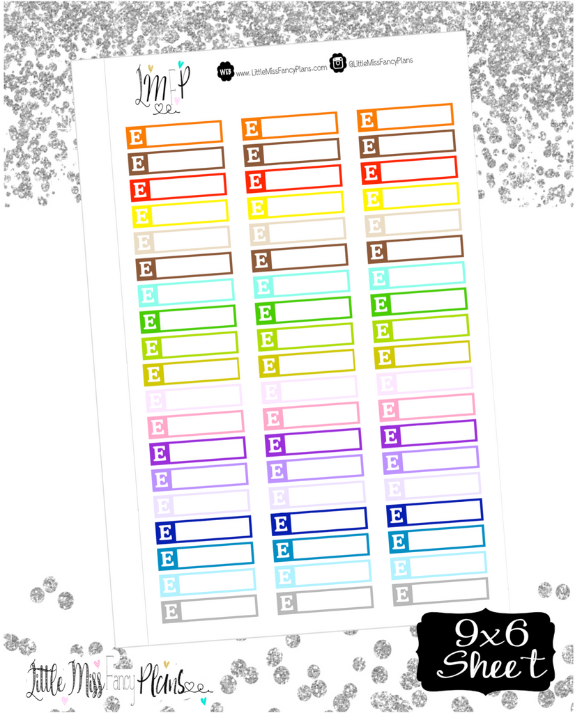 Etsy Icon Stickers - Erin Condrin, Happy Planner Stickers, Personal Planner