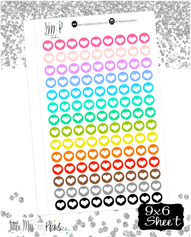 Heart Dots Stickers <Little Dots>