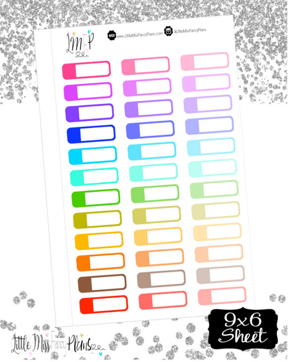 Rounded Edge Event Labels <Multi Colored>