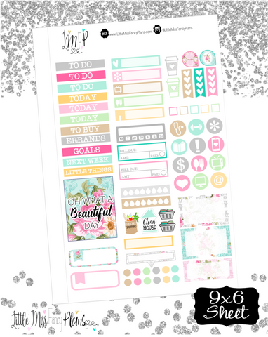 Floral Shabby Chic <Sticker Kit>