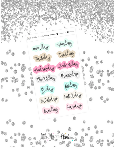 Blog Babe Weekday <Wording>