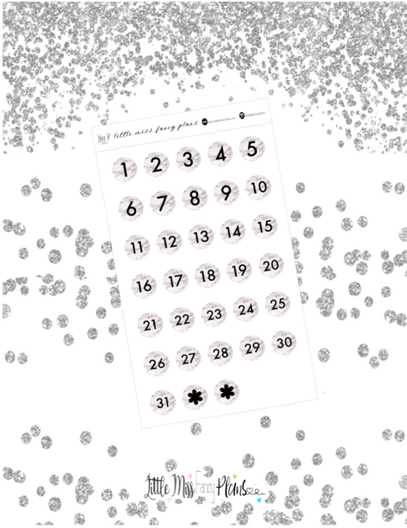 Marble Dreams Dates <Date Dots>