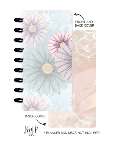 Half Sheet Cover Set of 2 <Double Sided Print> Spring Vibes