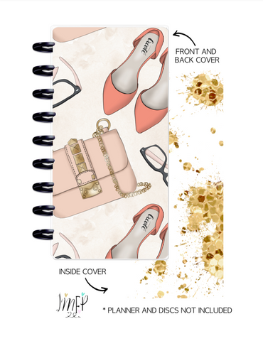Half Sheet Cover Set of 2 <Double Sided Print> Planner Babe