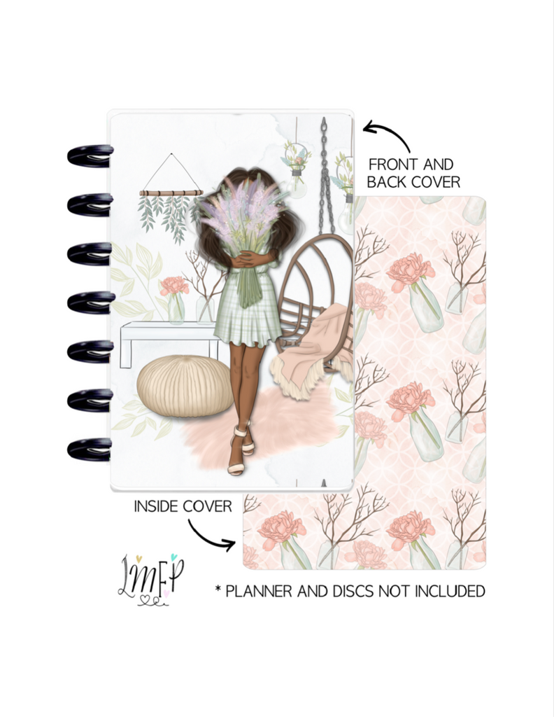 Mini Sheet Cover Set of 2 <Double Sided Print> Happiness Blooms Girls