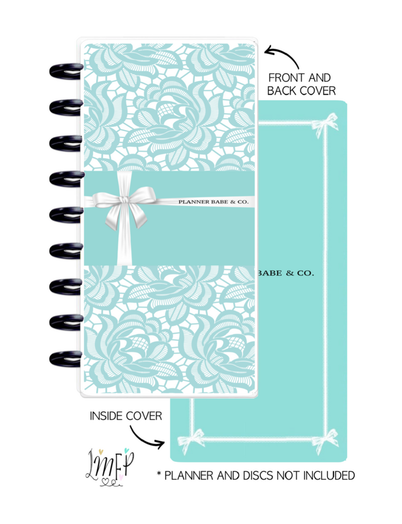 Half Sheet Cover Set of 2 <Double Sided Print> Planner Babe and Co