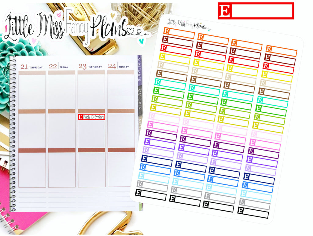 Etsy Icon Stickers | Erin Condren, Happy Planner Stickers, Personal Planner