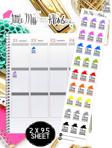 Clean House Icons <Sticker Strip> | Erin Condren, Happy Planner Stickers, Personal Planner