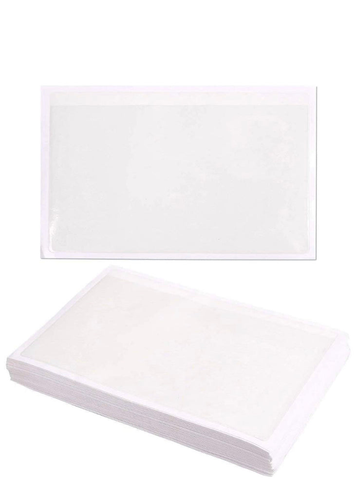 5 x 8 Clear Adhesive Poly Pocket