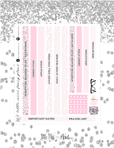Light Pink Colored Faith Kit <Classic Faith Kit>