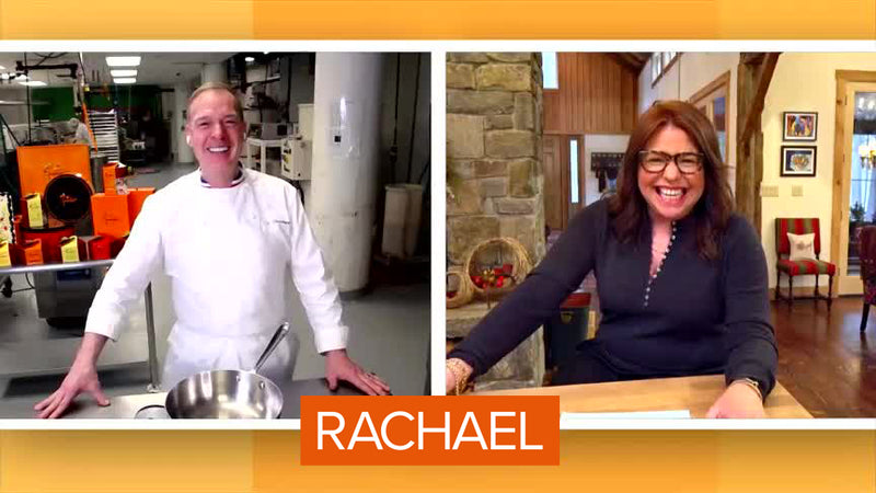 Jacques Goes on Rachael Ray Show and Shows You How to Make Homemade Caramels, Chocolate-Dipped Caramels + Turtles