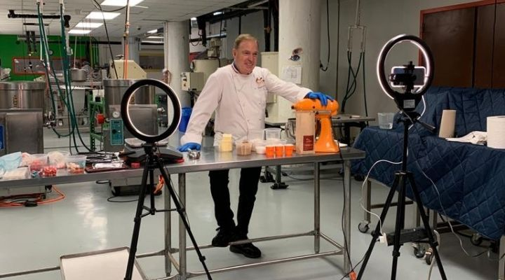 Jacques Torres Hosted A Live Zoom Class in Partnership with NYCWFF