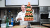 Christmas Tree Croquembouche Demo at ICC