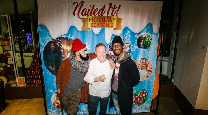 Jacques' Nailed it! Holiday! Season 2 Meet & Greet