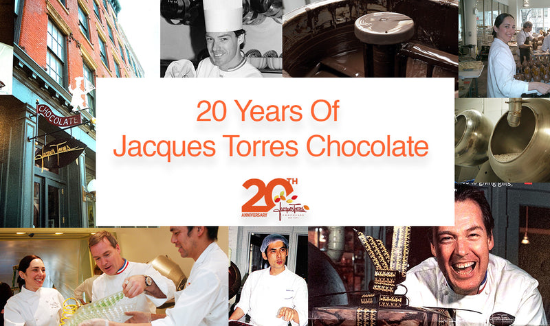 20 Years of Jacques Torres Chocolate