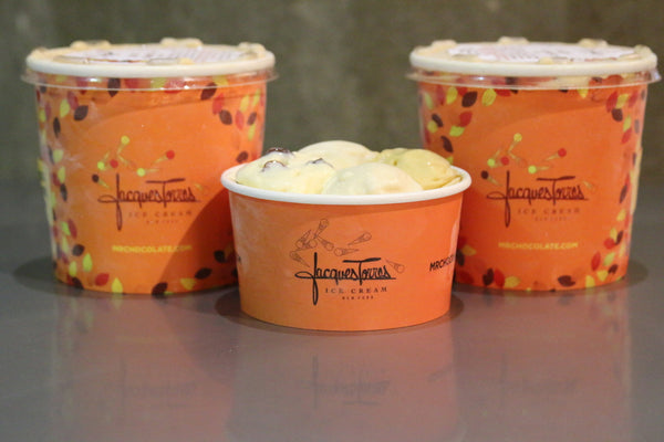 3 Cups of Jacques Torres new summer ice cream flavors