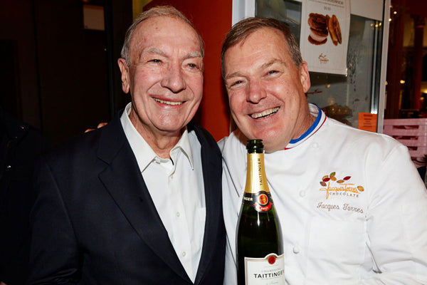 Jacques Torres and Chef Alain Sailhac