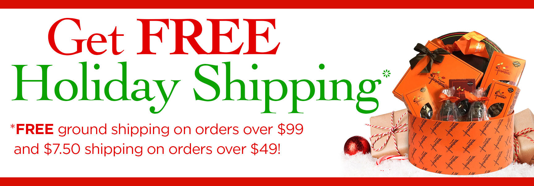 Free Ground Holiday Shipping