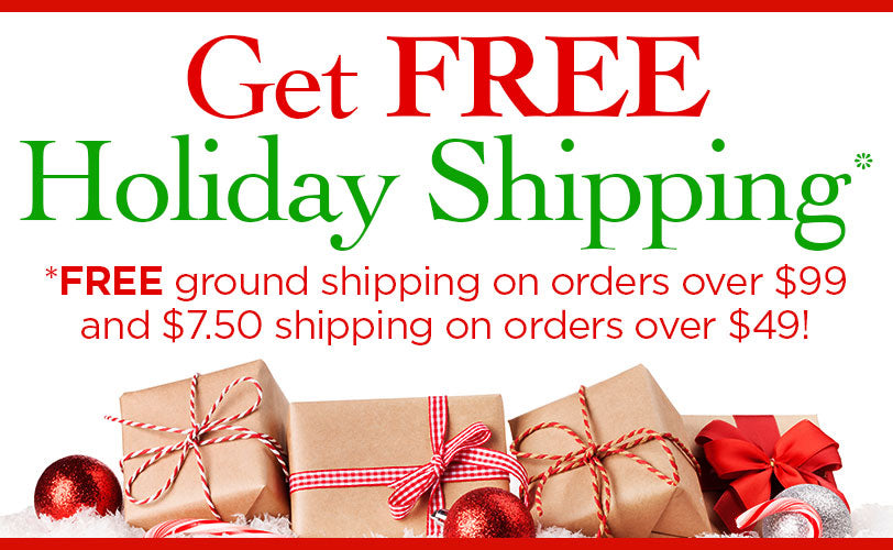 Get Free Holiday Shipping