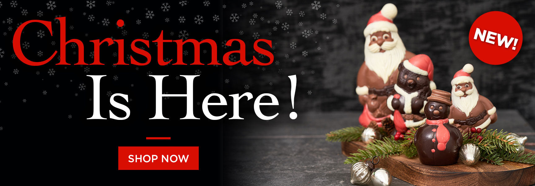 Christmas is Here order Jacques Torres Nownow